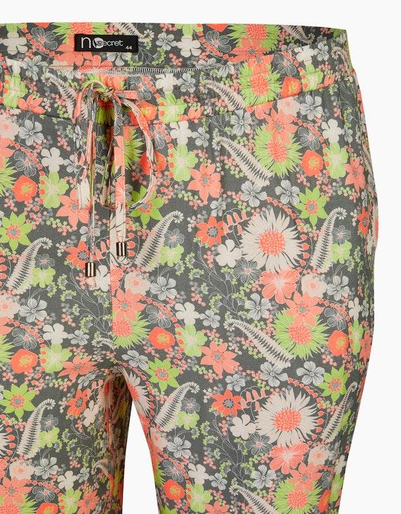 No Secret Leichte Hose mit Blumendruck   ADLER Mode Onlineshop