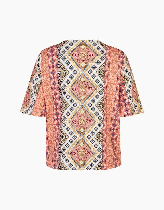 No Secret T-Shirt mit orientalischem Alloverdruck | ADLER Mode Onlineshop