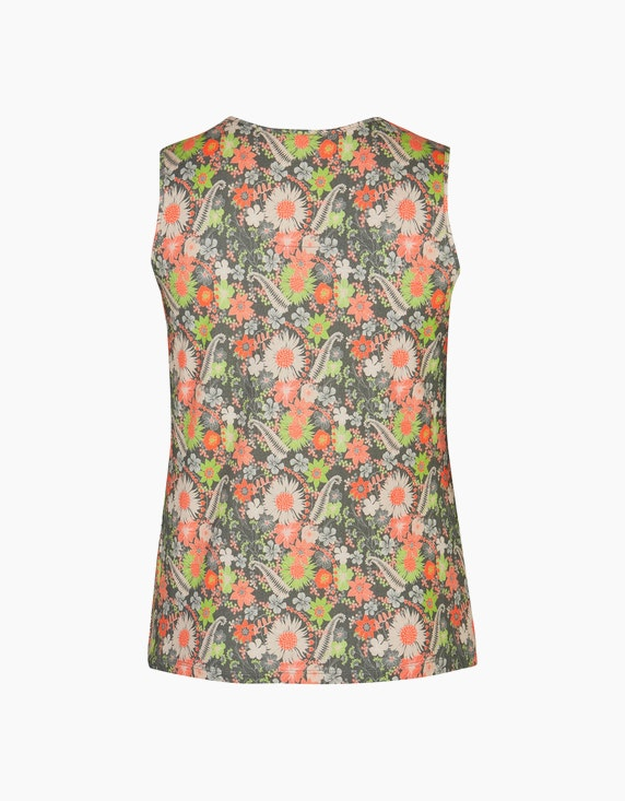 No Secret Top im floralen Alloverprint | ADLER Mode Onlineshop