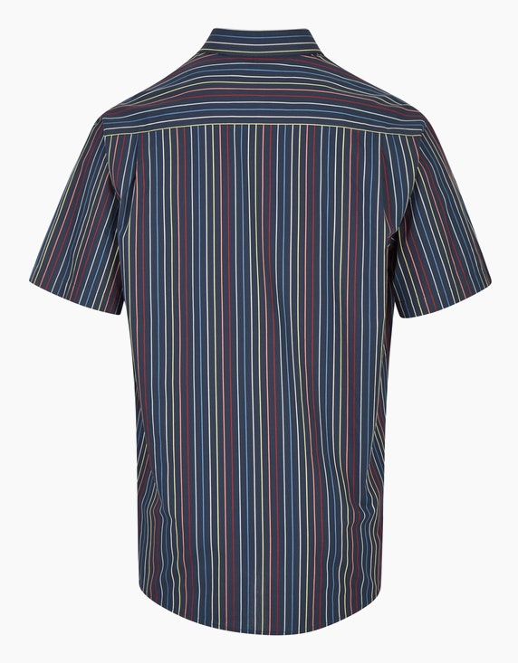 Bexleys man Streifenhemd in Multicolor, REGULAR FIT | ADLER Mode Onlineshop