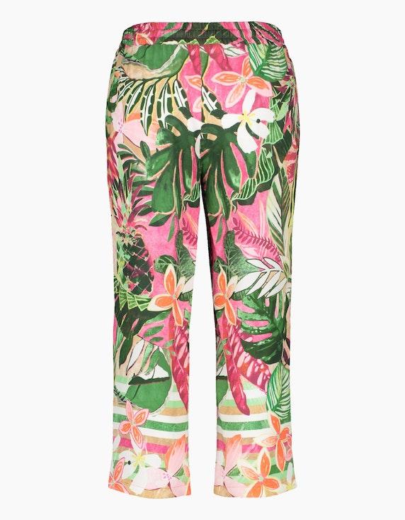 Gerry Weber Edition Floral bedruckte Schlupfhose | ADLER Mode Onlineshop