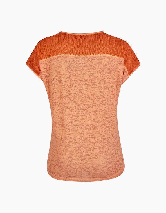 No Secret Modisches Shirt mit Strickeinsatz | ADLER Mode Onlineshop