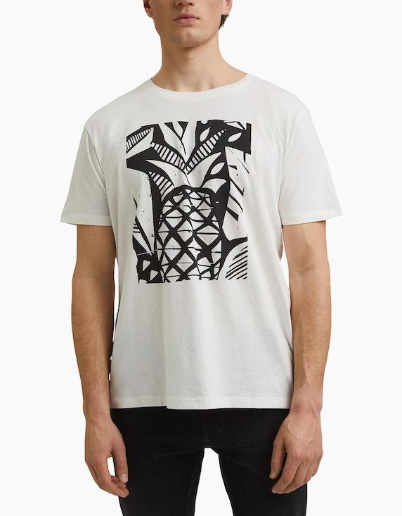 Esprit EDC T-Shirt mit Front-Print | ADLER Mode Onlineshop