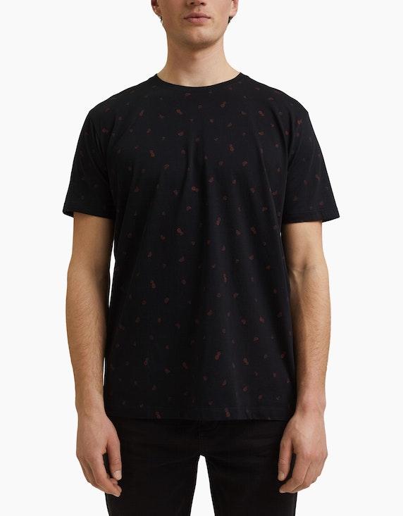 Esprit EDC T-Shirt mit Allover-Print | ADLER Mode Onlineshop