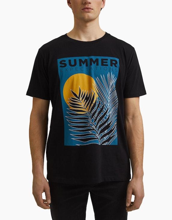 Esprit EDC T-Shirt mit Front-Print   ADLER Mode Onlineshop