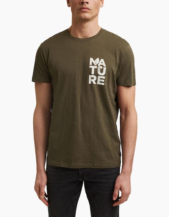 Esprit EDC T-Shirt mit Print aus Organic Cotton | ADLER Mode Onlineshop