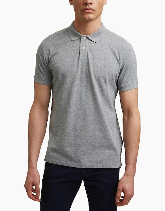Esprit Piqué-Poloshirt aus Organic Cotton   ADLER Mode Onlineshop