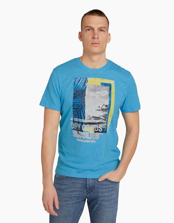 Tom Tailor T-Shirt mit Fotoprint | ADLER Mode Onlineshop