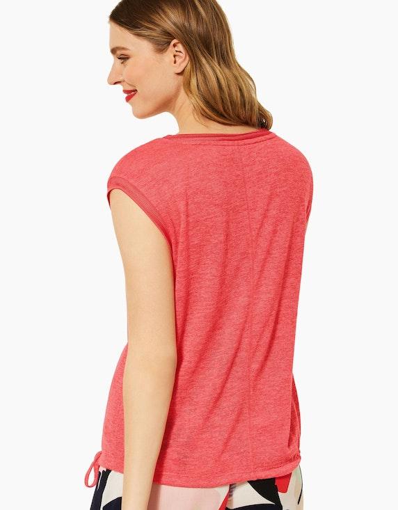 Street One T-Shirt im Leinen Look | ADLER Mode Onlineshop