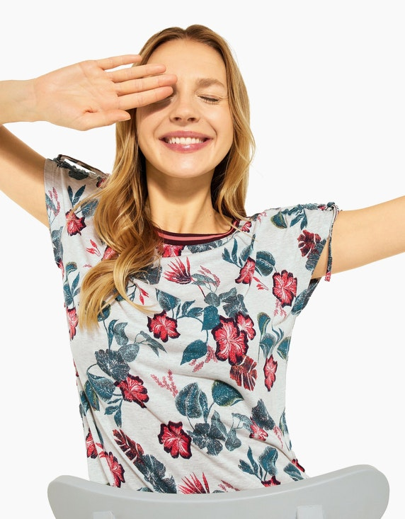 CECIL T-Shirt mit Print | ADLER Mode Onlineshop