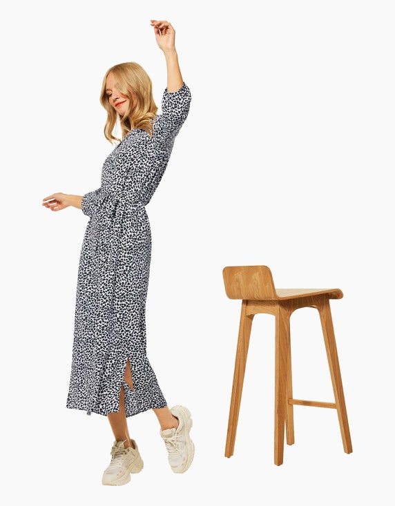 Street One Maxi Kleid mit Print | ADLER Mode Onlineshop