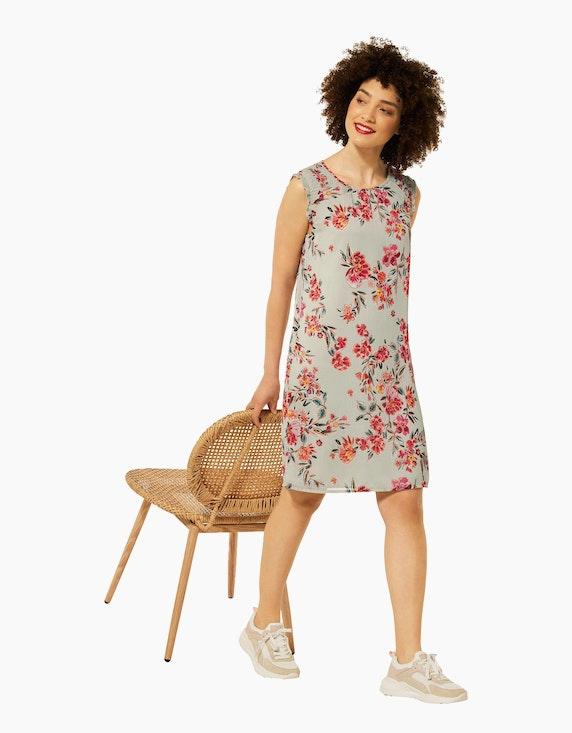 Street One Kleid mit Smok Details | ADLER Mode Onlineshop