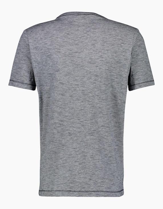 Lerros Streifenshirt mit V-Neck   ADLER Mode Onlineshop