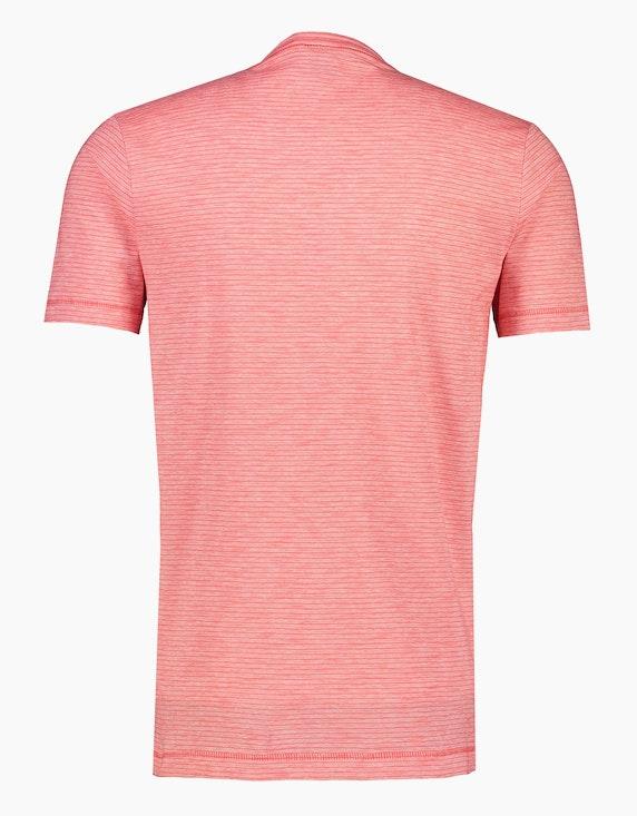 Lerros Streifenshirt mit V-Neck | ADLER Mode Onlineshop