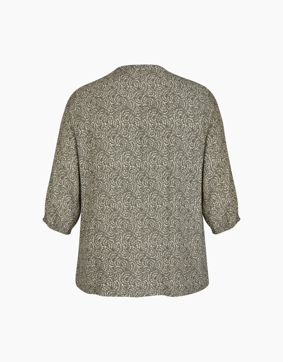 No Secret Bluse mit Alloverdruck und Ballonärmeln | ADLER Mode Onlineshop