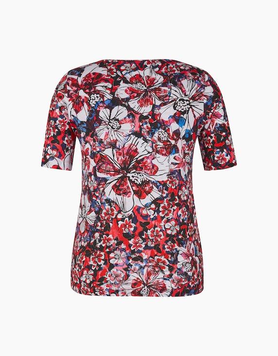 Roses & Angels Shirt mit Allover-Print | ADLER Mode Onlineshop
