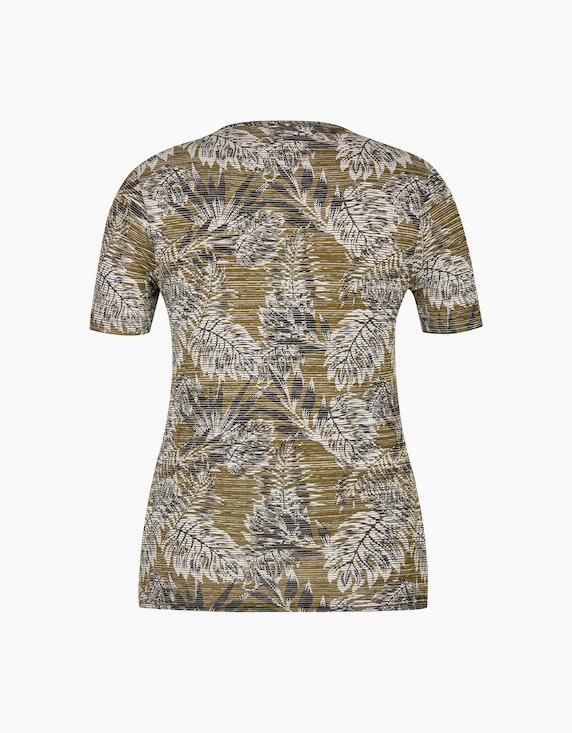 Bexleys woman Jacquard T-Shirt | ADLER Mode Onlineshop