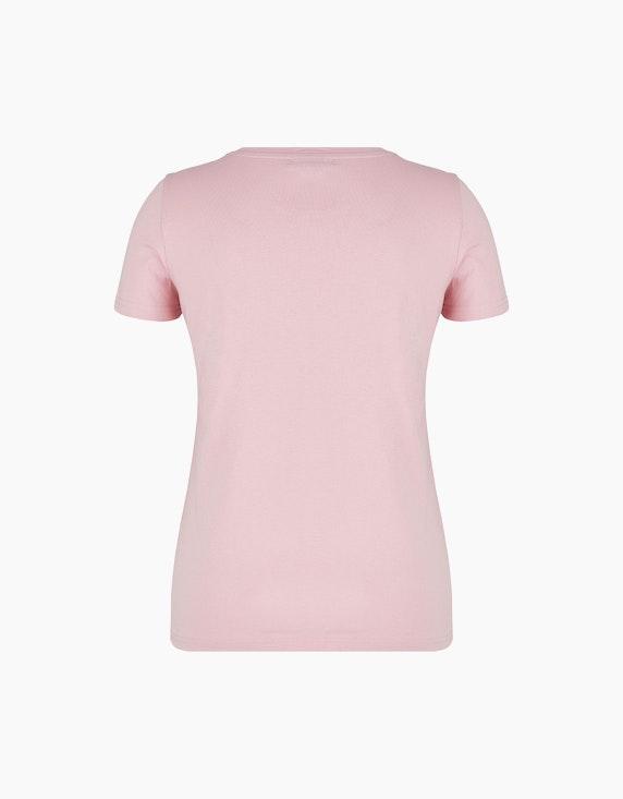 MY OWN Shirt mit Blumendruck und Zierdetails   ADLER Mode Onlineshop