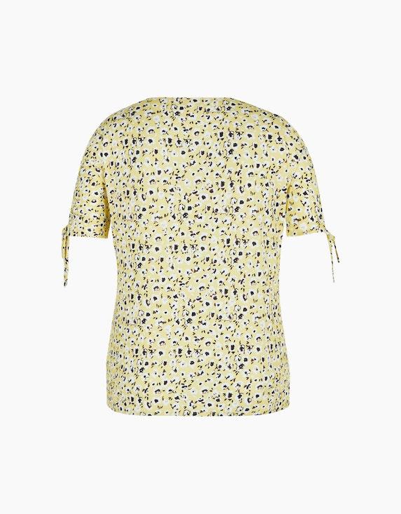 Rabe T-Shirt mit geblümten Allover-Muster | ADLER Mode Onlineshop