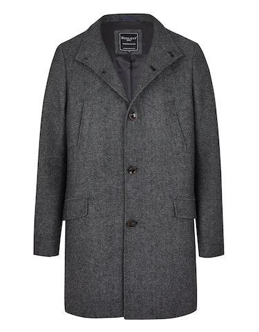 bexleys man - Klassischer Wollmantel, 352402