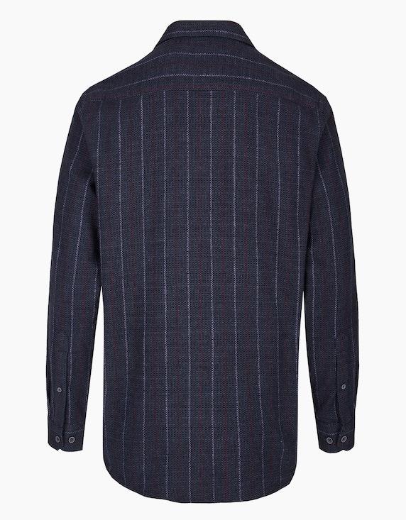Bexleys man Freizeithemd mit zweifarbigem Streifen, REGULAR FIT | ADLER Mode Onlineshop