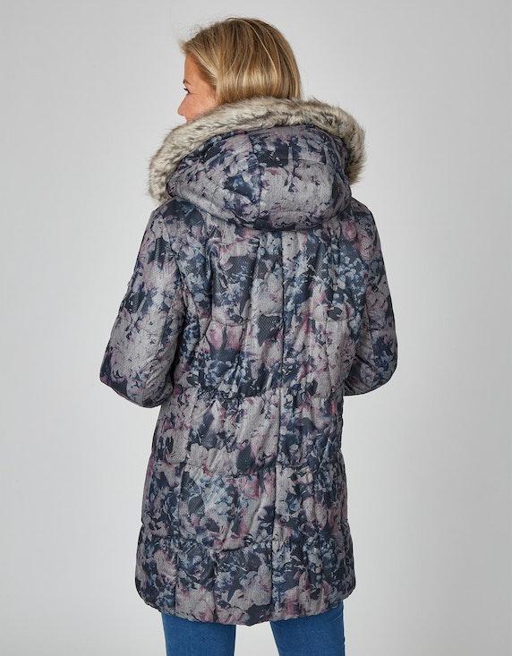 Adler Collection Steppjacke mit floralem Muster   ADLER Mode Onlineshop