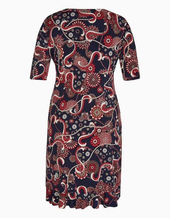 Bexleys woman Jerseykleid mit Druck und Volantsaum | ADLER Mode Onlineshop