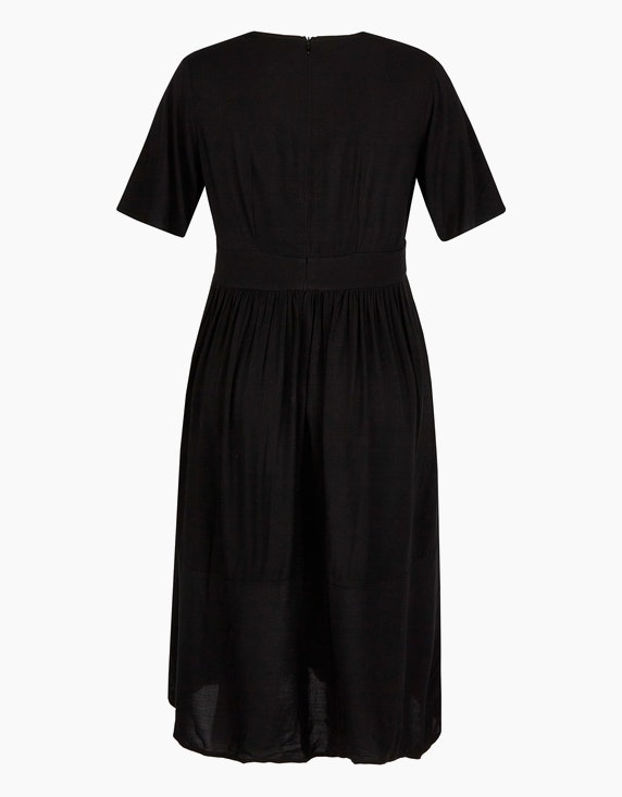 Bexleys woman Viskose-Kleid mit tiefem V-Ausschnitt | ADLER Mode Onlineshop