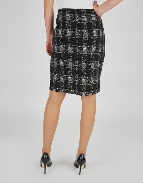 Bexleys woman Jacquard-Rock im Karo-Dessin   ADLER Mode Onlineshop