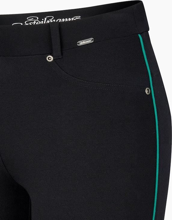 Steilmann Woman Romanit-Hose mit Kontrast-Paspel | ADLER Mode Onlineshop
