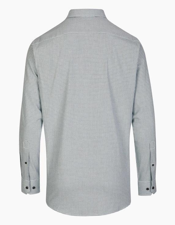 Bexleys man Twillhemd im Kleinkaro, MODERN FIT | ADLER Mode Onlineshop