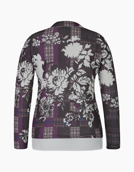 Bexleys woman florales Shirt mit Blusensaum | ADLER Mode Onlineshop