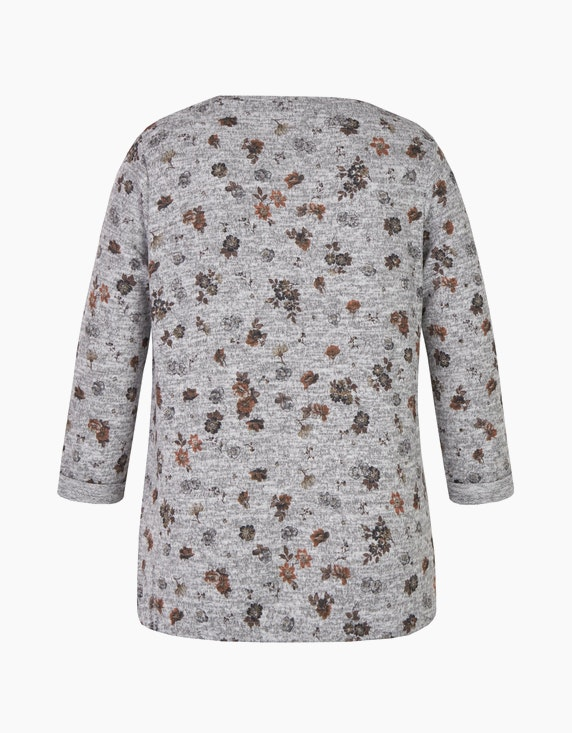 Bexleys woman florales Shirt mit 7/8-Arm | ADLER Mode Onlineshop