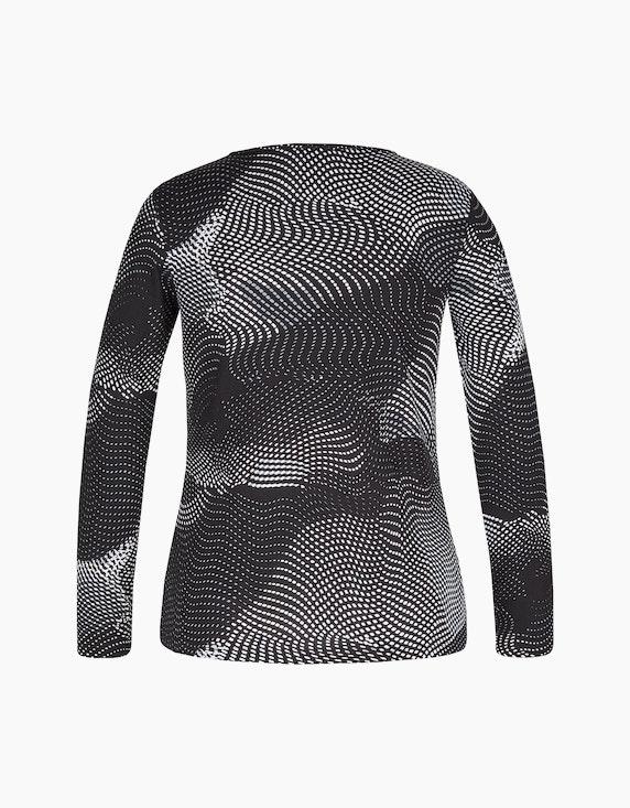 Bexleys woman Langarmshirt mit Strassbesatz am Ausschnitt | ADLER Mode Onlineshop