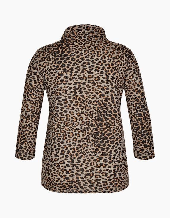 Bexleys woman Shirt im Animalprint mit Rollkragen | ADLER Mode Onlineshop