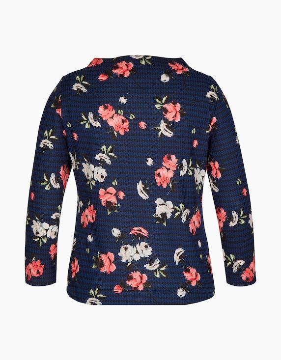 Bexleys woman Shirt mit Kelchkragen im floralen Design   ADLER Mode Onlineshop