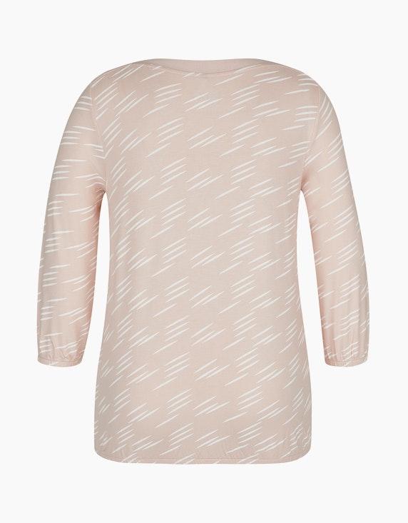 Bexleys woman Bedrucktes Shirt mit Gummibund | ADLER Mode Onlineshop