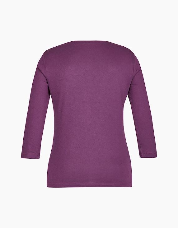 Roses & Angels Shirt mit 3/4-Arm und Strassbesatz | ADLER Mode Onlineshop