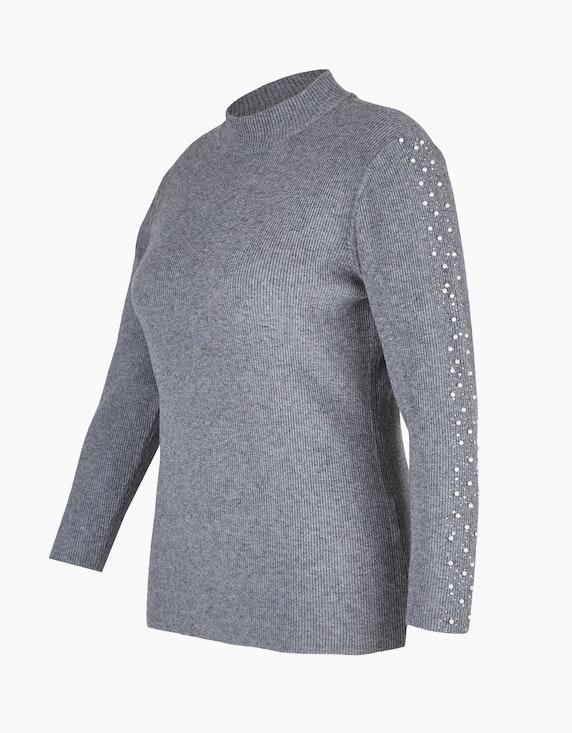 Bexleys woman Pullover mit Strass und Perlen   ADLER Mode Onlineshop