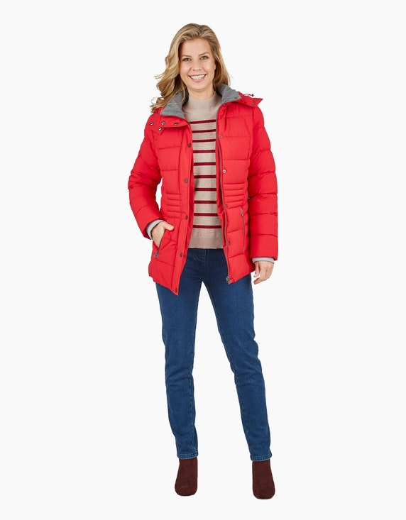 Bexleys woman Gestreifter Pullover mit Stehkragen | ADLER Mode Onlineshop