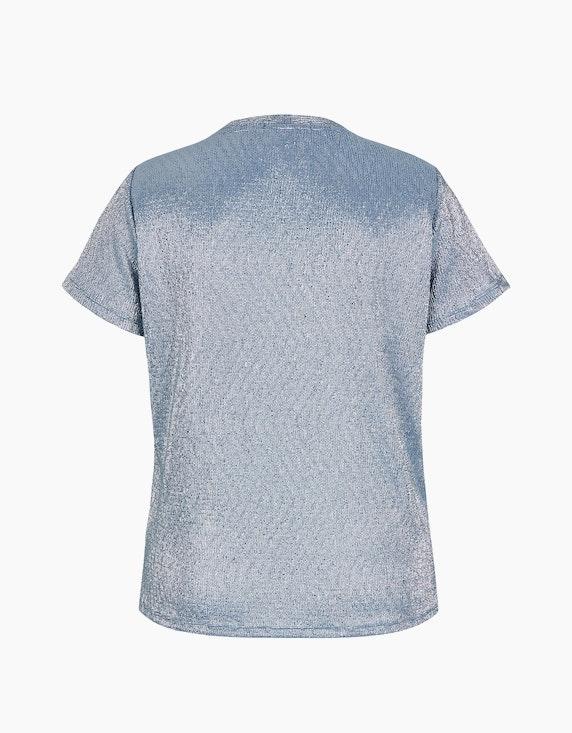 MY OWN Struktur-Shirt mit Folien-Punkte-Print | ADLER Mode Onlineshop
