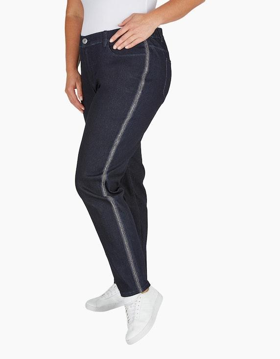Thea Jeans-Hose mit Galonstreifen | ADLER Mode Onlineshop