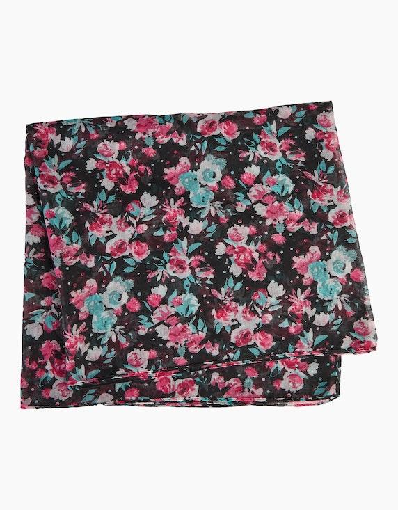 Thea Loop-Schal mit Blumen-Muster | ADLER Mode Onlineshop