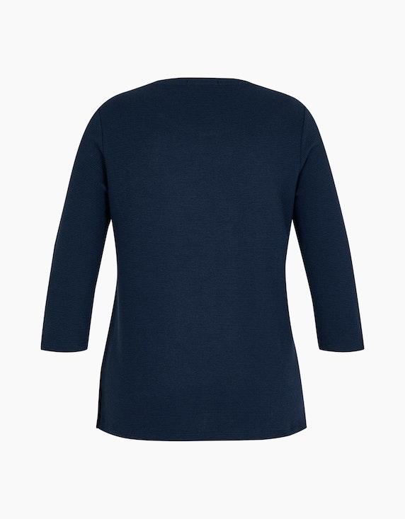 MY OWN Shirt mit Streifen-Struktur   ADLER Mode Onlineshop