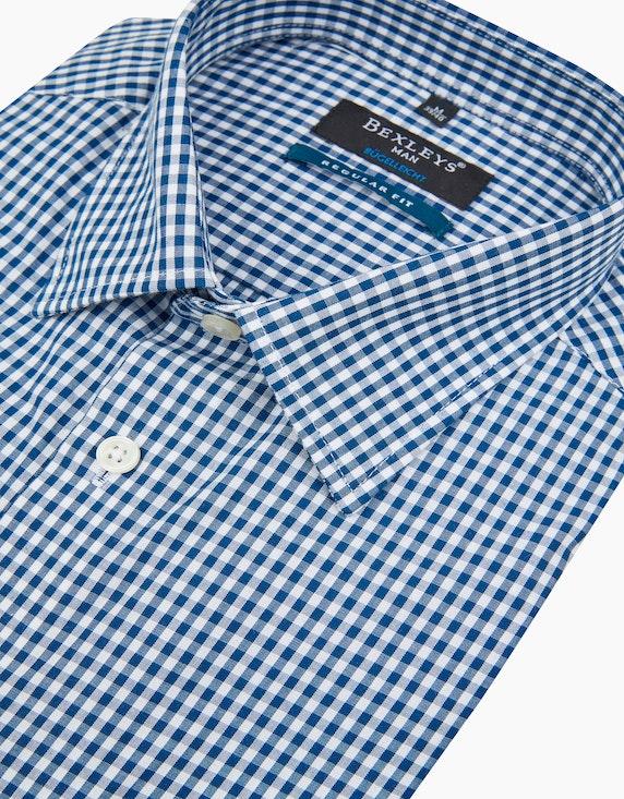 Bexleys man Dresshemd im klassischen Vichy-Karo, REGULAR FIT   ADLER Mode Onlineshop