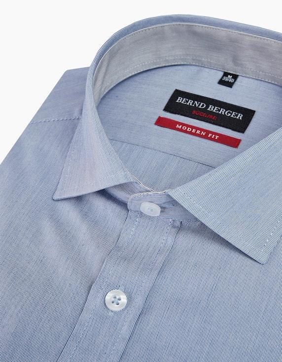 Bernd Berger Fein gestreiftes Dresshemd, MODERN FIT | ADLER Mode Onlineshop