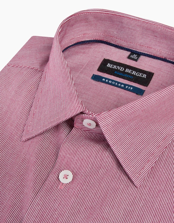 Bernd Berger Fein gestreiftes Dresshemd mit Langarm, REGULAR FIT   ADLER Mode Onlineshop