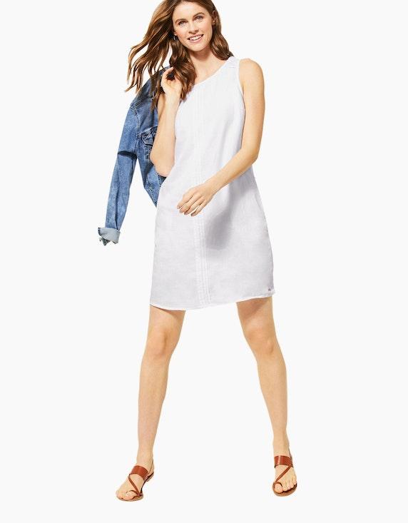 CECIL kurzes, ärmelloses Leinen-Kleid | ADLER Mode Onlineshop