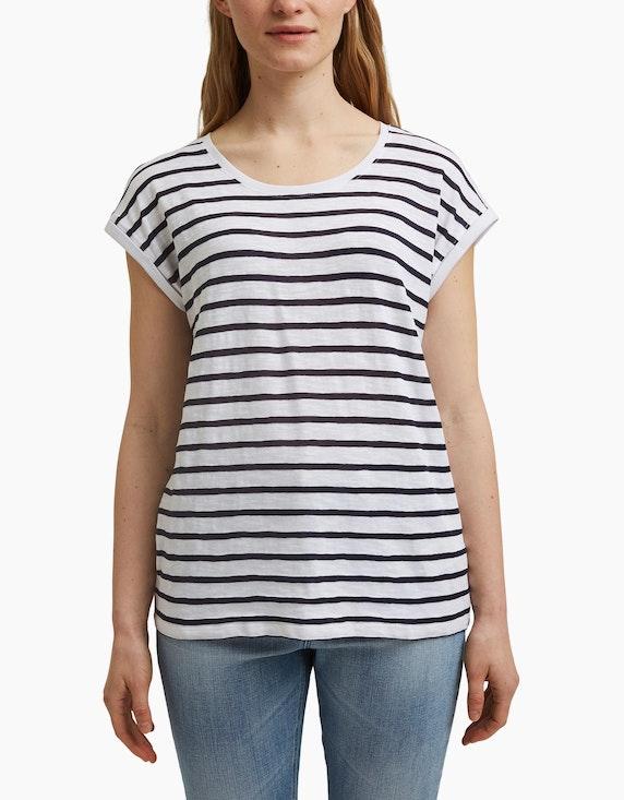 Esprit Jersey-Streifenshirt mit Bio-Baumwolle | ADLER Mode Onlineshop
