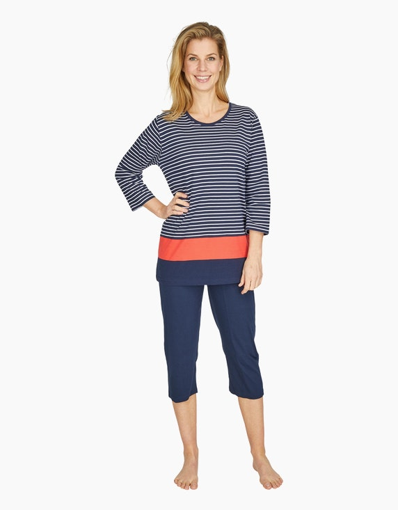 Bexleys woman Pyjama mit Caprihose   ADLER Mode Onlineshop